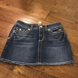Girls justice Blue jean skirt